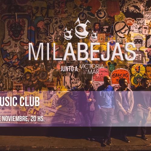 Mil Abejas en Kirie Music Club