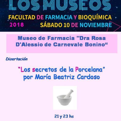 """Disertación: """"Los secretos de la Porcelana"""", por María Beatriz Cardoso"""