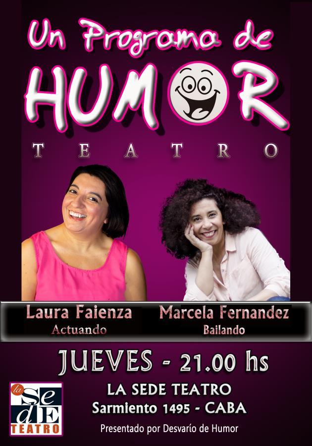 Desvarío de Humor - un programa de humor teatral