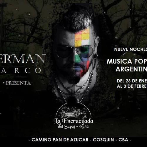 """""""Nueve Noches de Música Popular Argentina"""" con Germán Marco en La Encrucijada"""