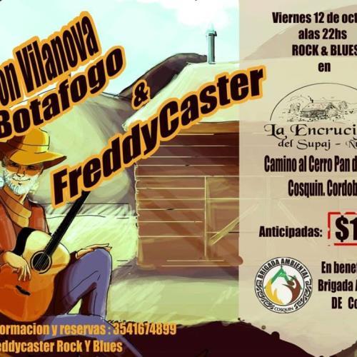 Don Vilanova Botafogo en La Encrucijada a Beneficio de la Brigada Ambiental de Cosquín