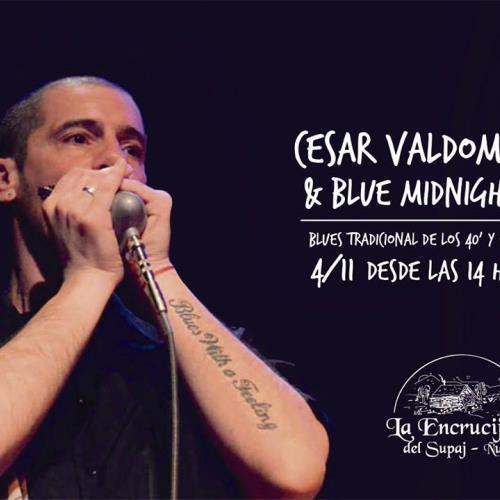Cesar Valdomir & Blue Midnight en La Encrucijada (Cosquín)