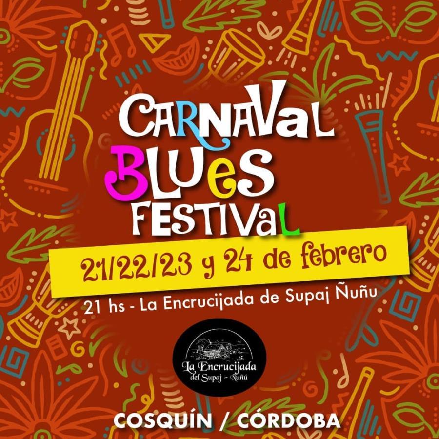 Carnaval Blues Festival en las Sierras