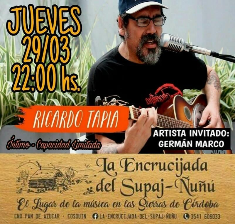 ¡Recibimos al gran Ricardo Tapia en La Encrucijada!