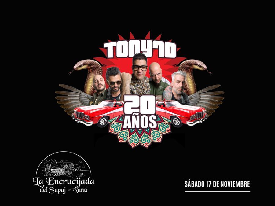 ANIVERSARIO DE LA ENCRUCIJADA DEL SUPAJ ÑUÑÚ CON TONY 70 EN VIVO