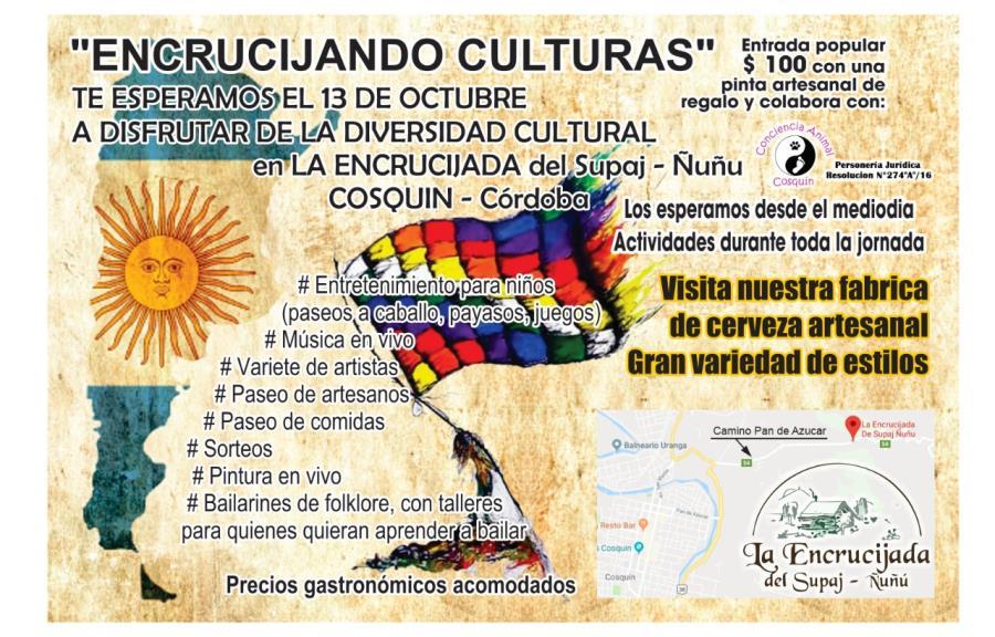 """La Encrucijada del Supaj - Ñuñu presenta """"Encrucijando Culturas"""""""