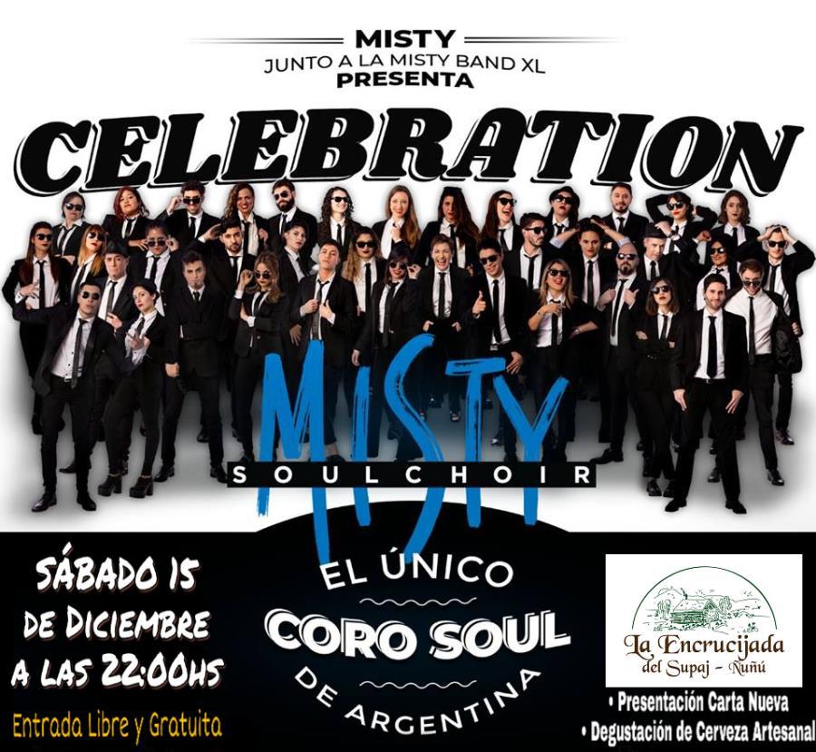 Cerramos la Temporada Musical de La Encrucijada con el Misty Soul Choir