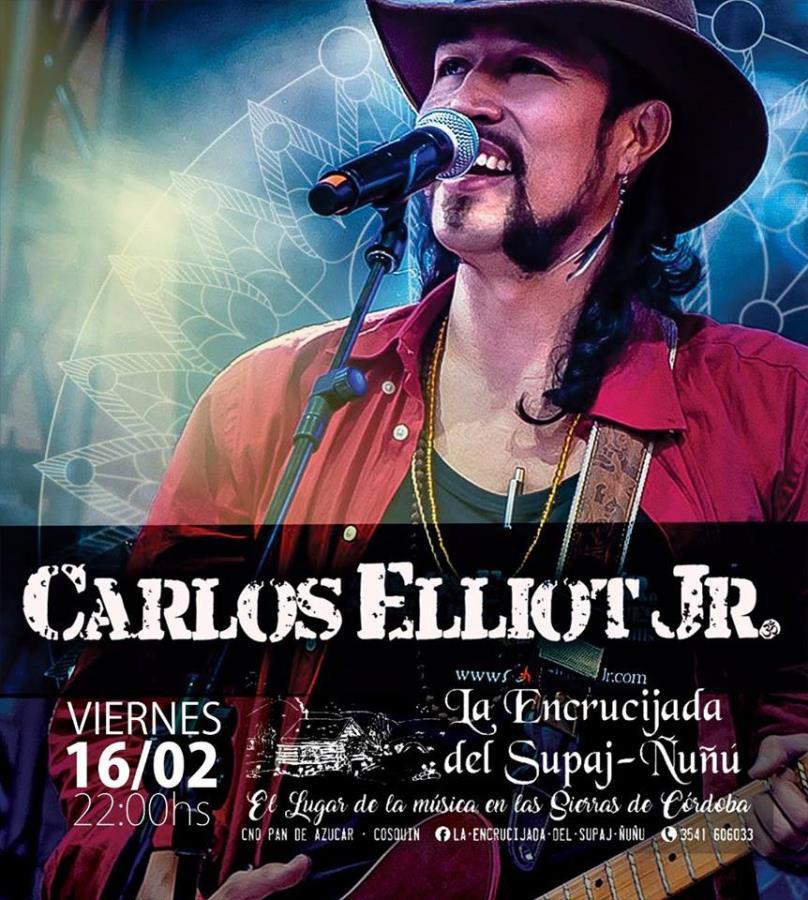 Carlos Elliot Jr. en La Encrucijada (Cosquín)