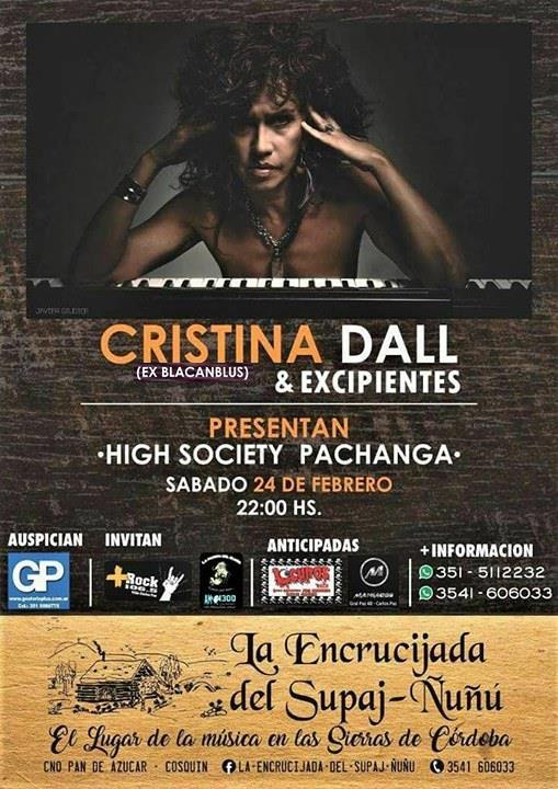 Cristina Dall - Ex Blacanblus en La Encrucijada