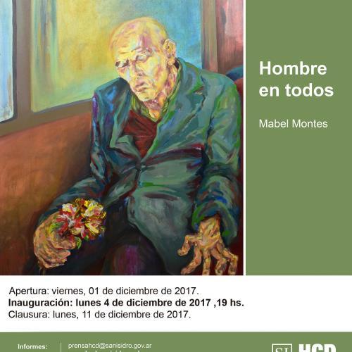 """""""Hombre en todos"""" -  Obras de Mabel Montes"""