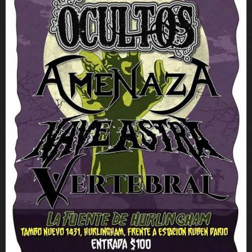 Vertebral en el Threat Metal Fest