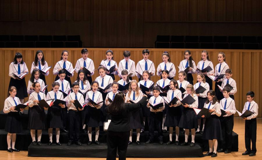 Concierto del Coro Nacional de Niños en el marco de su 50° aniversario