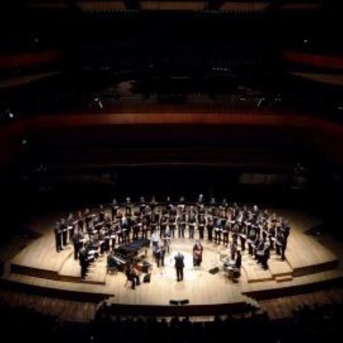 El Coro Polifónico Nacional en concierto al aire libre