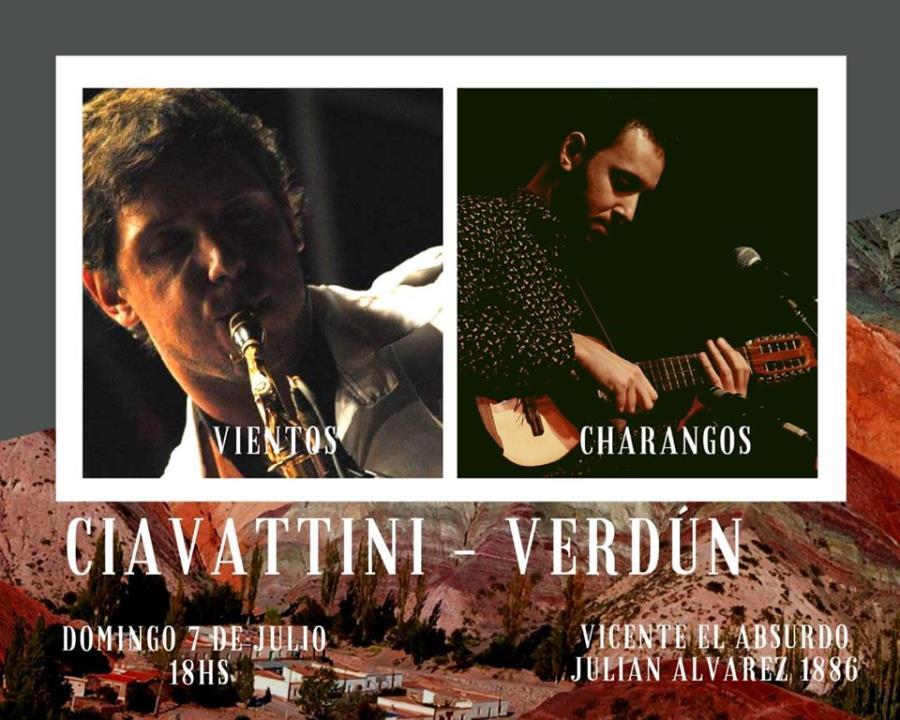 Vientos y Charangos | Ciavattini - Verdún