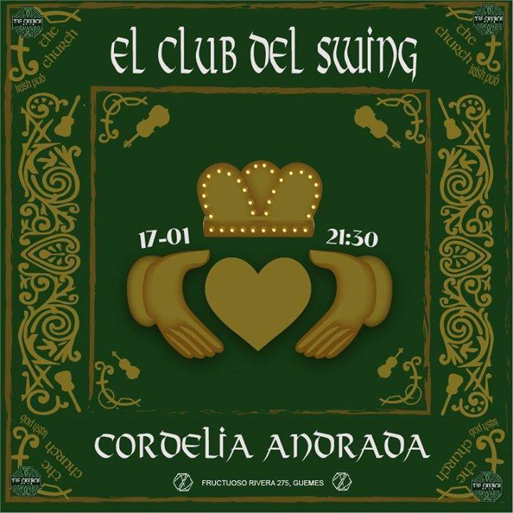 Cordelia Andrada en El Club del Swing