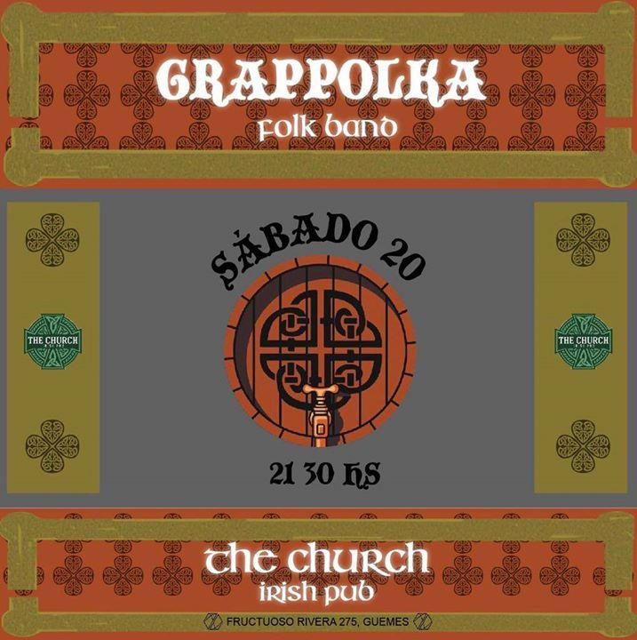 Grappolka Folk Band en The Church Irish Pub