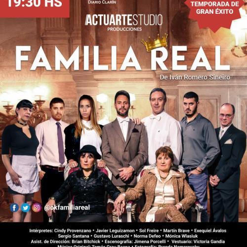 Familia Real 3ra Temporada de Ivan Romero Sineiro