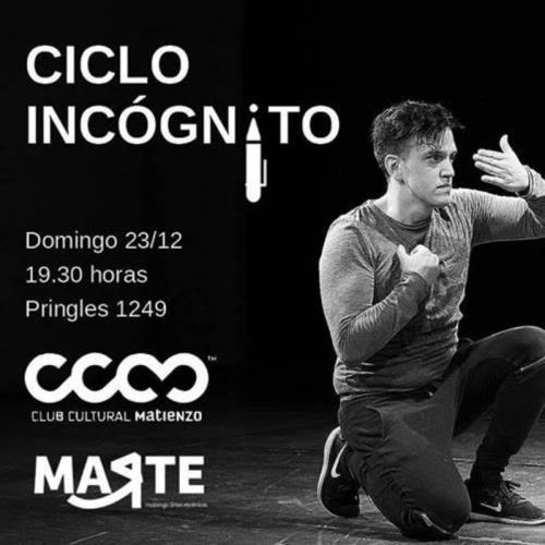 Ciclo Incógnito - Cierre