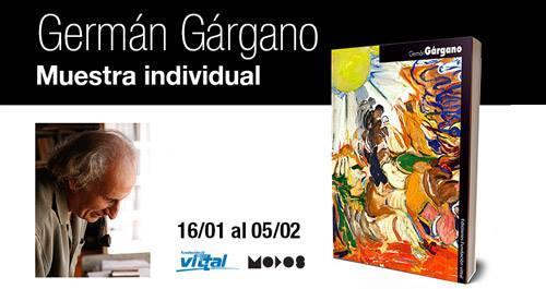 Muestra del Artista Germán Gárgano