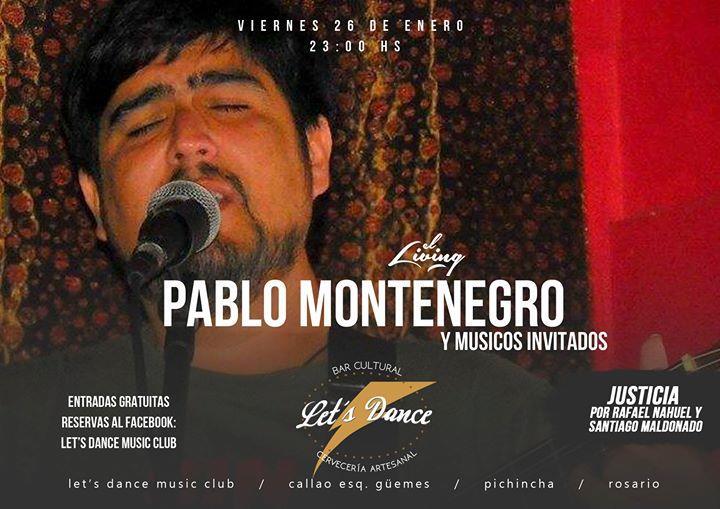 Pablo Montenegro   Show en vivo
