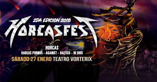 Horcasfest 2º Edición 2018 | Teatro Vorterix