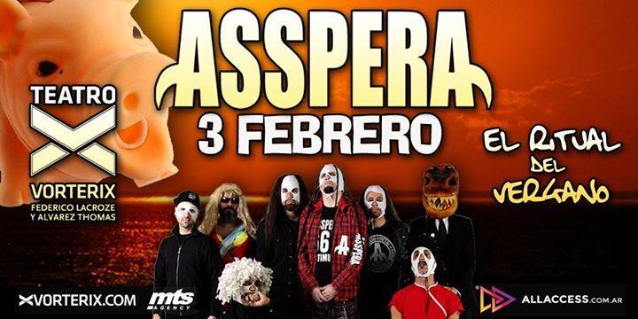 Asspera   Teatro Vorterix