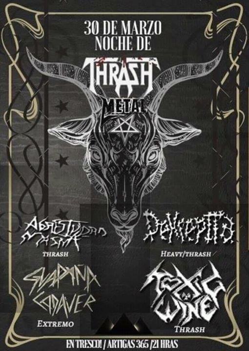 Noche de Thrash Metal ▲▲▲