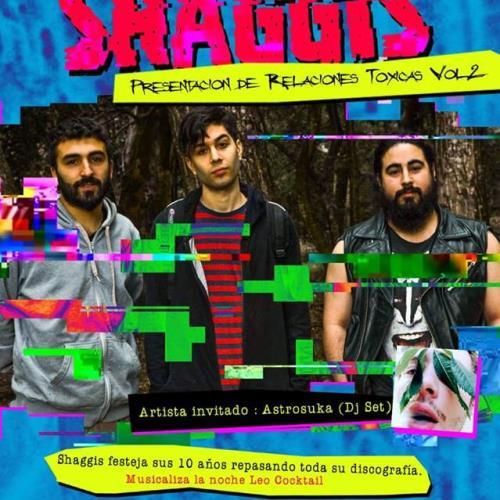 Shaggis celebra década y presenta nuevas canciones