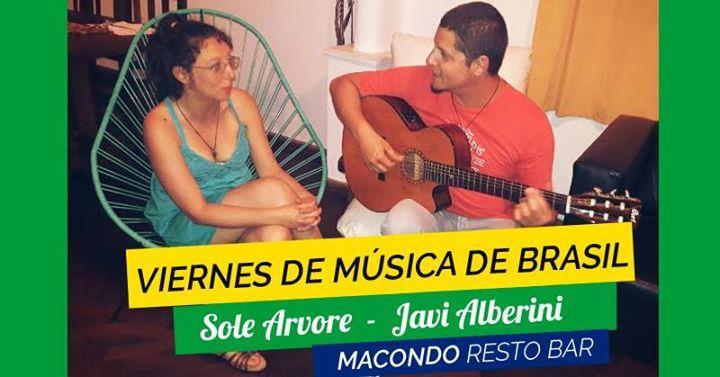 Ultimo Viernes de Bossa Nova, Samba y música brasileña - Macondo