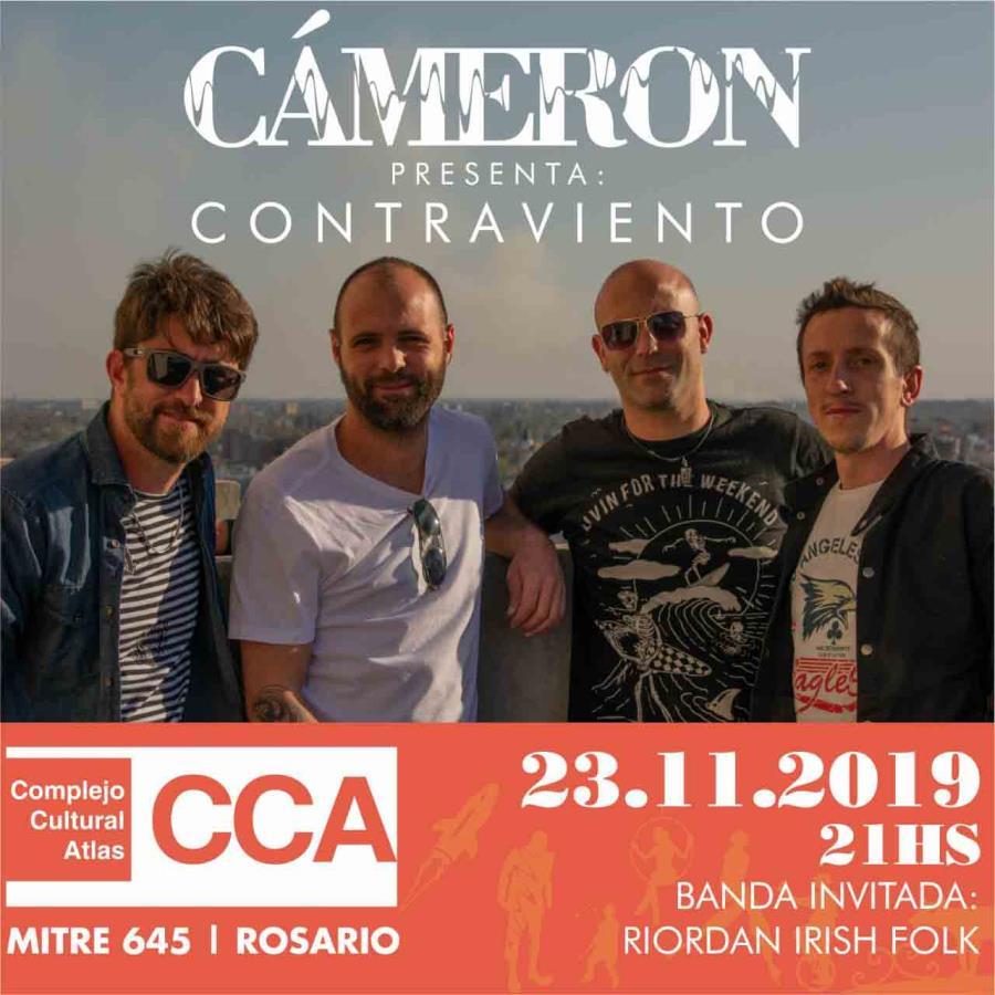 """Cameron presenta su disco """"Contraviento"""""""