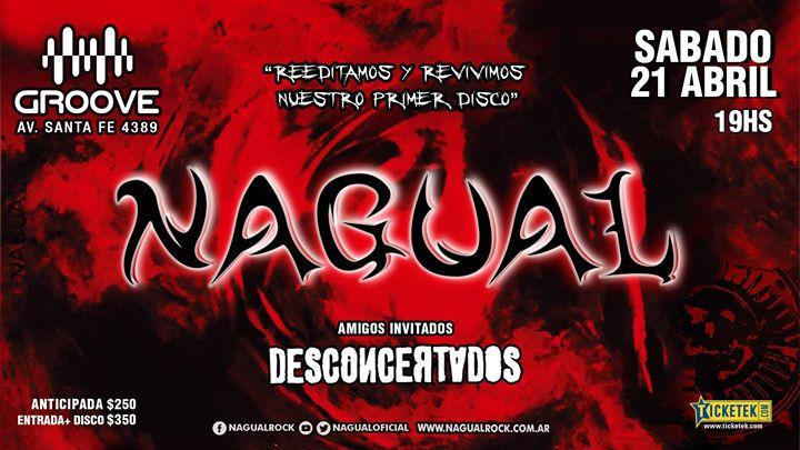 21/4 Nagual en Groove, reeditando su 1er Disco