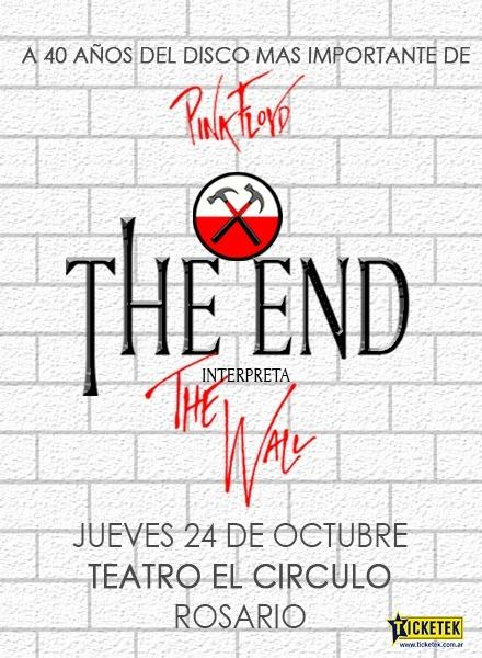 "THE END interpreta ""The Wall"""