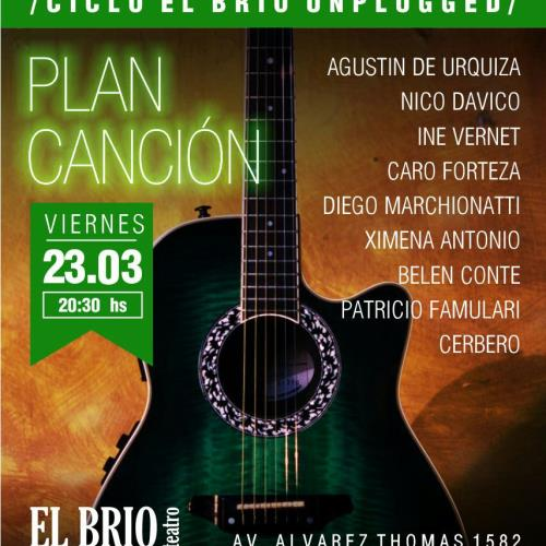 "Plan Cancion en ""El Brio Unplugged"""