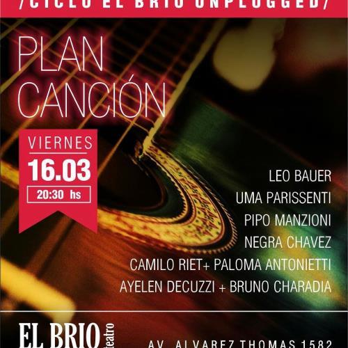 """PLAN CANCION en """"El Brio Unplugged"""""""