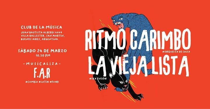 Sábado Festejadera: Ritmo Carimbo & La Vieja Lista