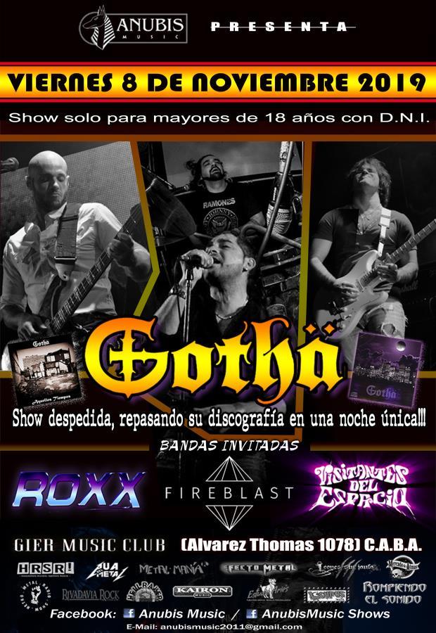 Gotha Show Despedida!!!