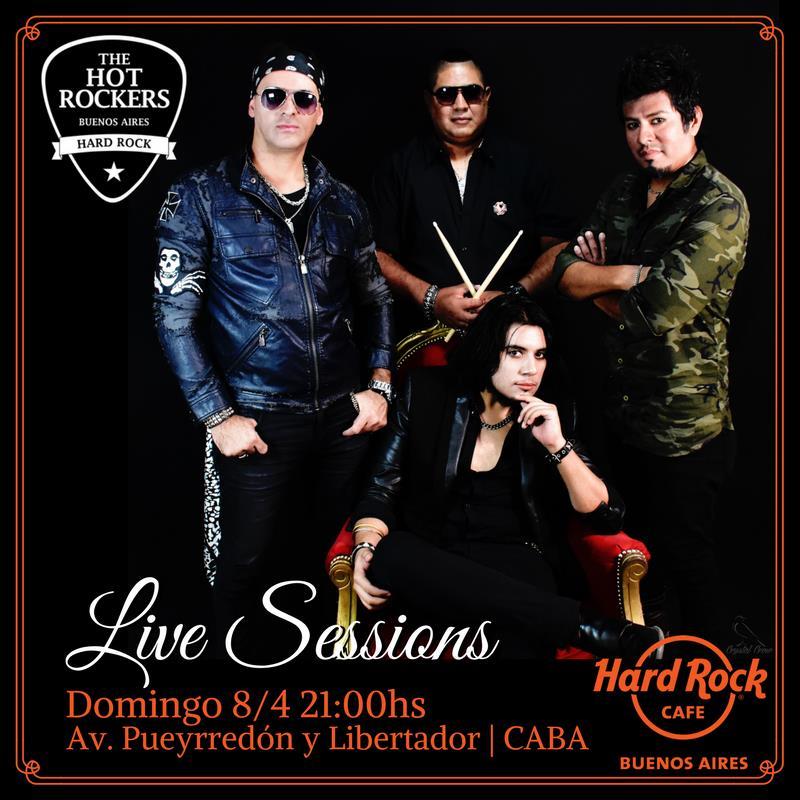The Hot Rockers en el Hard Rock Cafe