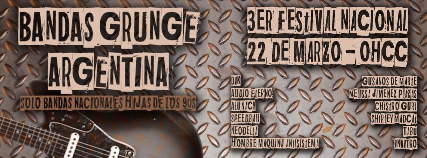 Alunacy se presenta en el Festival Bandas Gungre Argentinas