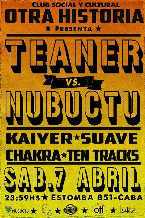Teaner vs Nubuctu