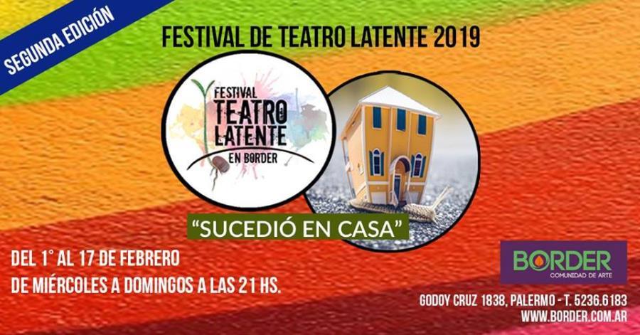 Festival teatro latente 2019