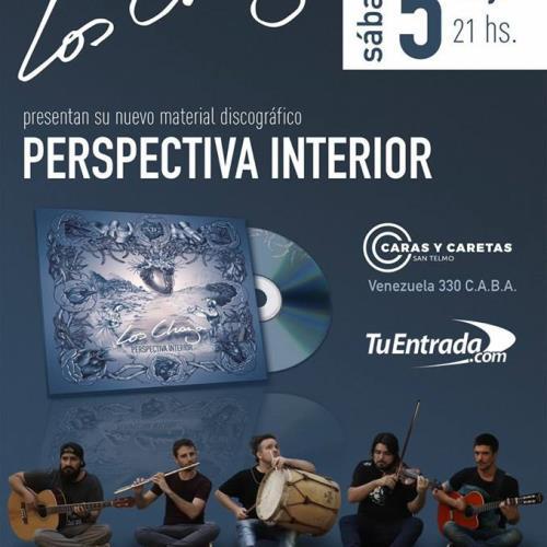 """Los Chaza presentas """"Perspectiva Interior"""", su cuarto disco"""