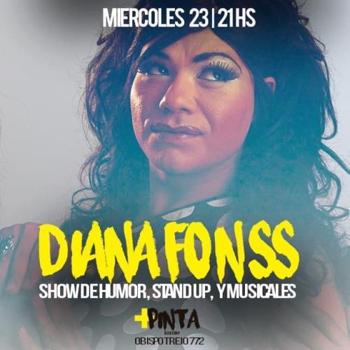 DIANA FONSS en +PINTA BAR