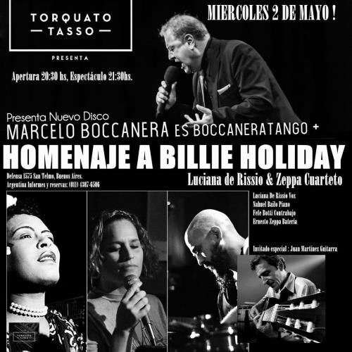 Homenaje a Billie Holliday & Boccaneratango