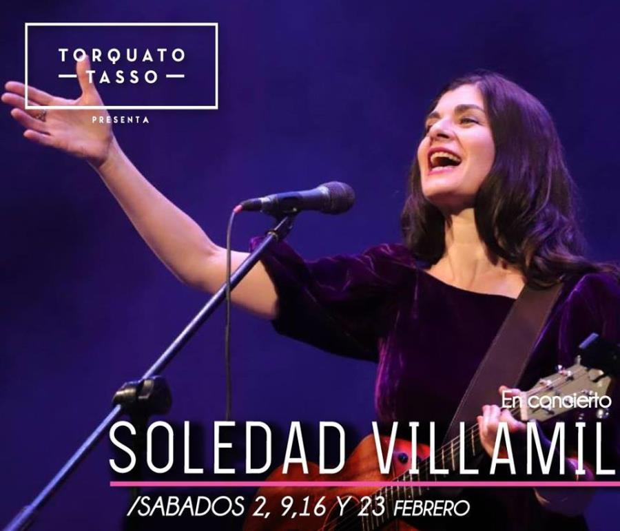 Soledad Villamil en el Tasso