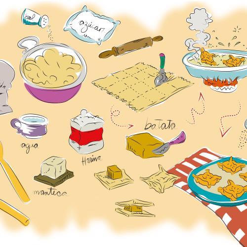 Cocinando historias. Secretos del novecientos