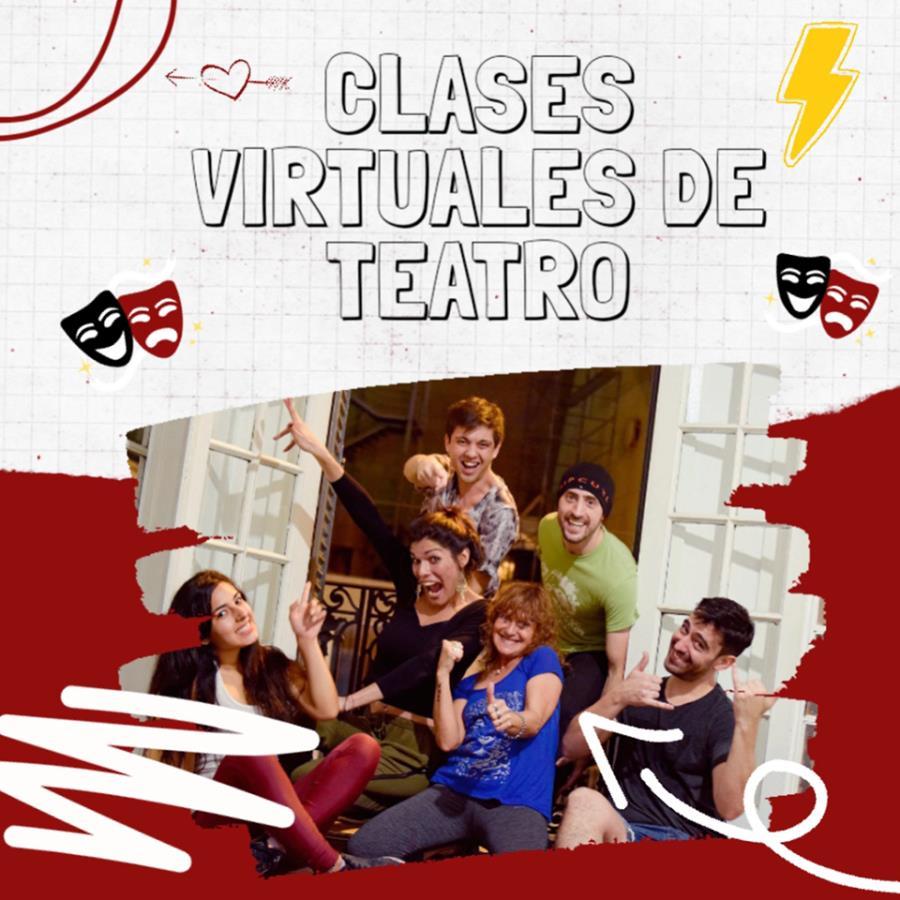 Clases virtuales de TEATRO junto al Domo Teatro