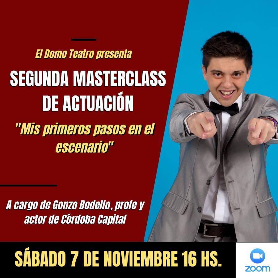 Masterclass de Teatro junto a El Domo Teatro