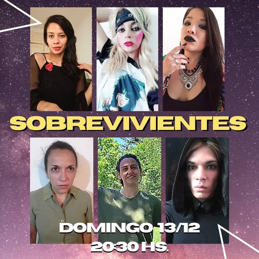 """""""Sobrevivientes"""" Muestra final de El Domo Teatro"""