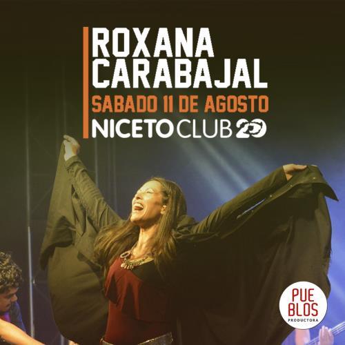 Roxana Carabajal en Niceto Club