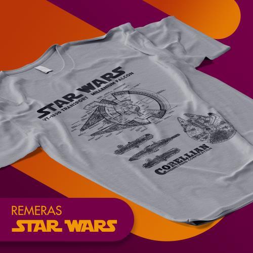 Remeras Star Wars